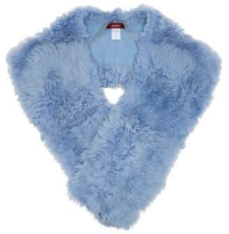 Sies Marjan - Jordi Shearling Shrug - Womens - Light Blue