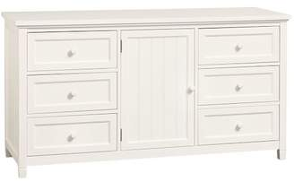 Pottery Barn Teen Beadboard Wide Dresser, Simply White