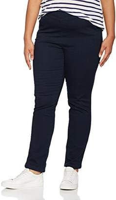 2f3d9d5be30 Ulla Popken Women s Röhrenjeans in dunklem Denim Slim Jeans