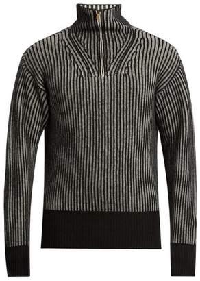 Tomas Maier Zip-through wool sweater