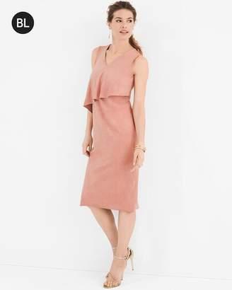 Black Label Sueded Dress