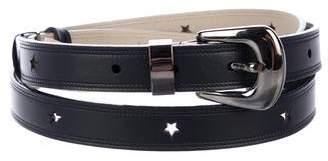Nina Ricci Star Leather Belt