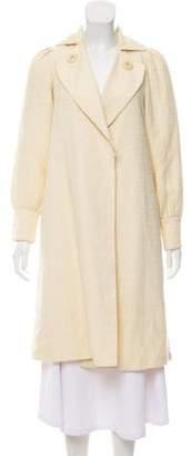 Mayle Linen-Blend Long Coat