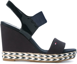 Tommy Hilfiger wedged sandals $117.69 thestylecure.com