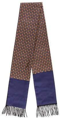 Hermes Silk Cashmere Muffler