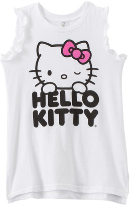 Hello Kitty Girls' Ruffle Tank Cover Up (4yrs6X) - 8129645 $27 thestylecure.com