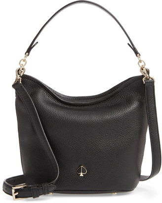 Kate Spade Small Polly Leather Hobo Bag