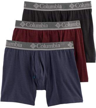 Columbia Men's 3-pack Performance Boxer Briefs