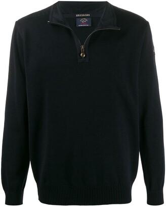 Paul & Shark zipped wool sweater