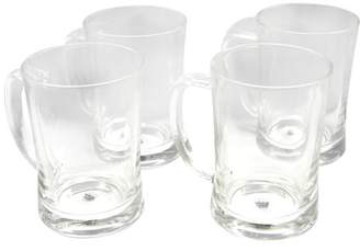clear General Store 4-Piece 23 oz. Beer Mug Glass