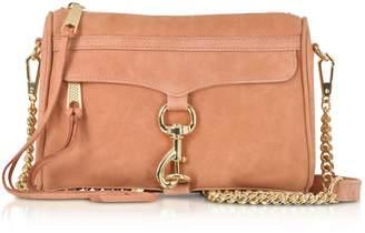 Rebecca Minkoff Dusty Peach Leather Mini M.a.c. Crossbody Bag