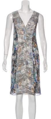 Christian Cota Sleeveless Midi Dress