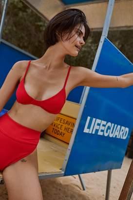 Beach Riot Camilla Rib Bikini Top