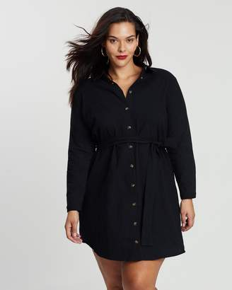 ICONIC EXCLUSIVE - Long Sleeve Shirt Dress