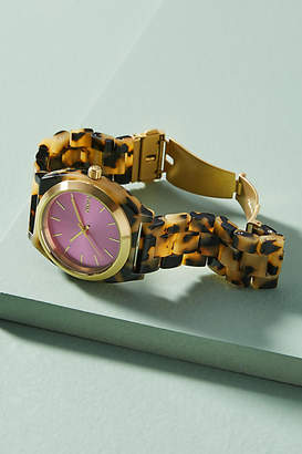 Nixon Pink Tortoise Watch