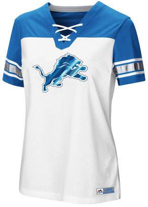 Majestic Women's Detroit Lions Draft Me T-Shirt 2018