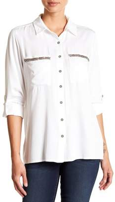 KUT from the Kloth Danny Button Down Shirt