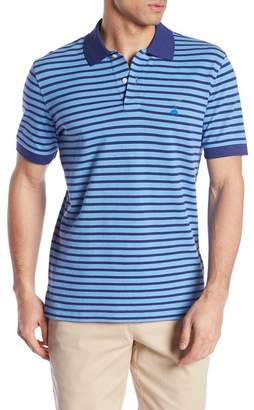 Brooks Brothers Short Sleeve Slim Fit Stripe Polo