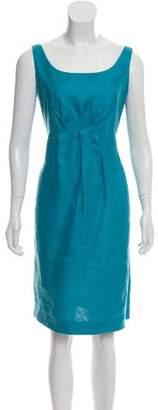Agnona Sleeveless Linen Dress
