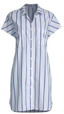 Stateside Pinstripe Shirtdress