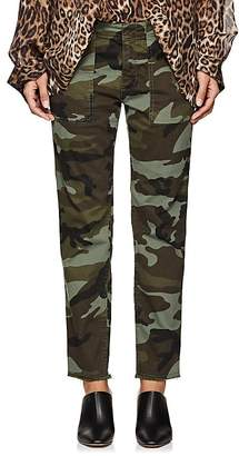 Nili Lotan Women's Jenna Camouflage Cotton Pants
