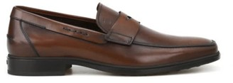 Tod's Tods Rubber Sole Classic Leather Loafers