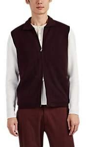 P. Johnson Men's Wool Varsity Jacket - Wine