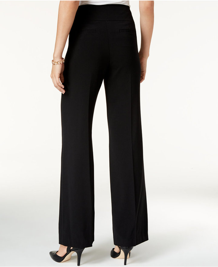 Style & Co Stretch Wide-Leg Pants, Only at Macy's 2