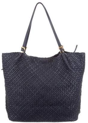 Michael Kors Woven Leather Tote