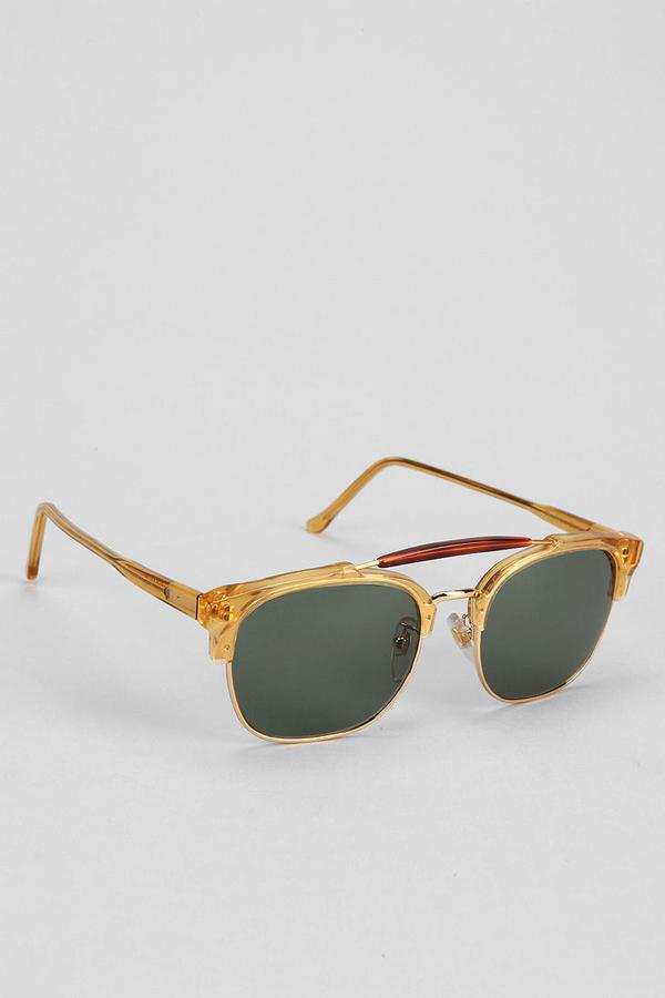 Super 49er Square Aviator Sunglasses
