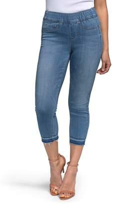 NYDJ CURVES 360 BY  Release Hem Pull-On Crop Skinny Jeans