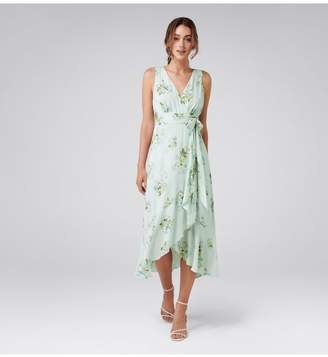 Ever New Cora Wrap Front Midi Dress