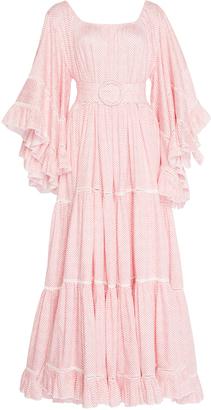Gl Hrgel Chevron Print Dress