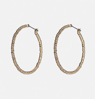 Avenue Mini Bead Hoop Earring