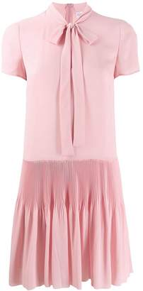 RED Valentino pleated skirt dress