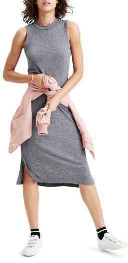 Women's Madewell Mock Neck Midi Dress