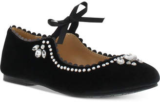 Badgley Mischka Little & Big Girls Amber Scallop Shoes