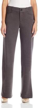 Lee Indigo Women's Zola Ponte Knit Pant
