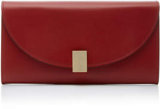 Victoria Beckham Half-Moon Leather Wallet