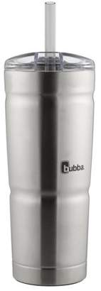clear Bubba Brands bubba Envy S Vacuum-Insulated Stainless Steel Tumbler with Straw, 24 oz., Stainless Steel with Lid