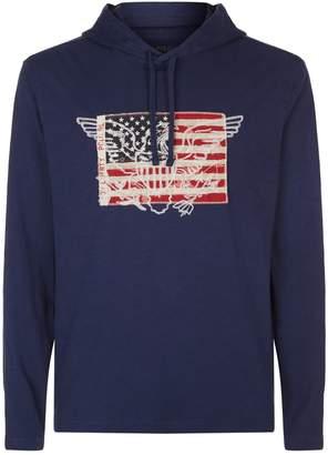 Polo Ralph Lauren Eagle Flag Hoodie