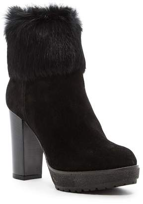 Manas Design Genuine Rabbit Fur Lined Boot