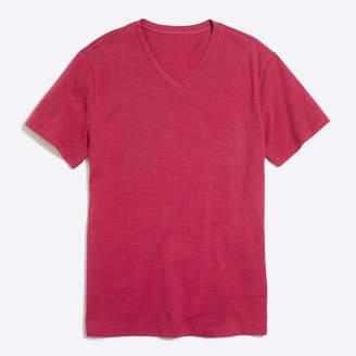 J.Crew Factory Sunwashed garment-dyed V-neck T-shirt