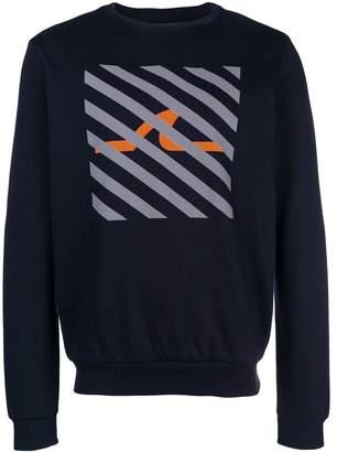 Paul & Shark shark print sweater