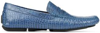 Donald J Pliner VINCO5, Croco Print Driving Loafer