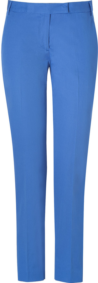 Paul Smith Black Ocean Blue Cotton Pants