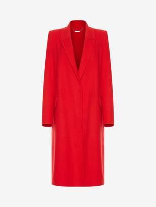 Alexander McQueen Double Faced Cashmere Coat