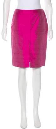 Gianni Versace Silk Pencil Skirt