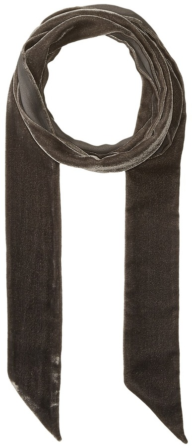 Echo Design - Bias Point Velvet Thinny Oblong Scarf Scarves