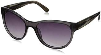 Hang Ten Gold Women's HT Classic Rectangular HTG1041 C1 Polarized Round Sunglasses